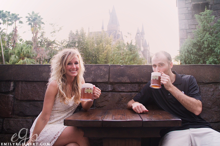 Wizarding World Of Harry Potter Engagement Photography Posted In Feature I