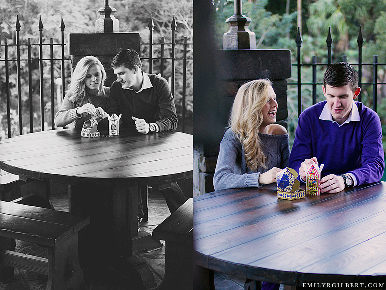 Wizarding World Of Harry Potter Engagement Session Emilyrgilbert