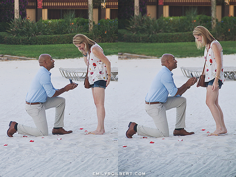walt disney world - polynesian resort proposal photography