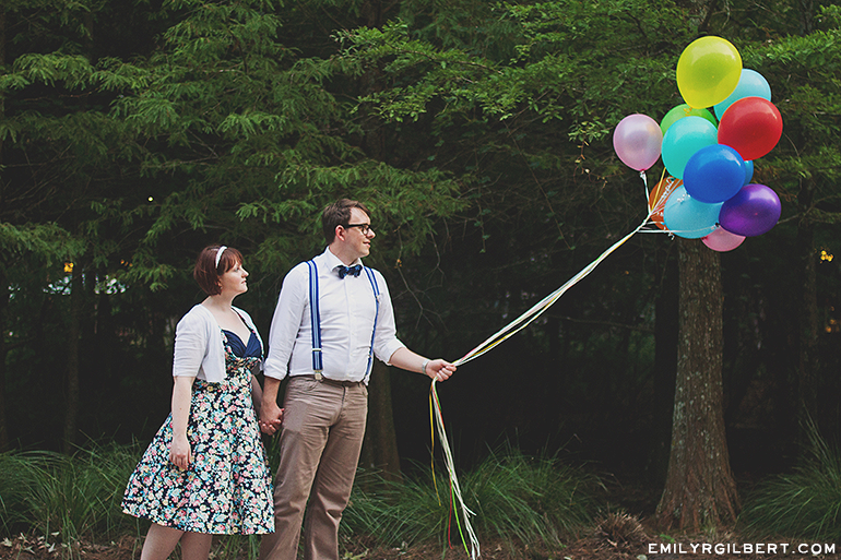up themed anniversary portrait session - disney